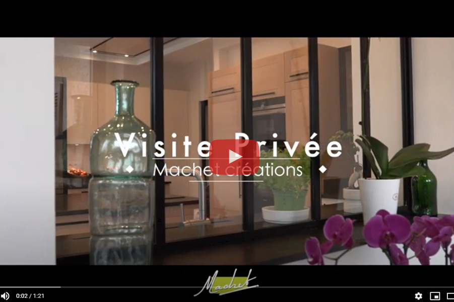 Video cuisine Visite privee